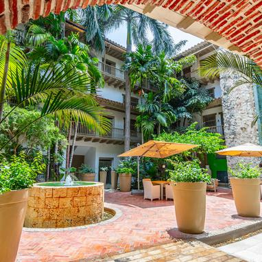 Jardin Hôtel GHL Collection Armería Real Hotel Carthagène