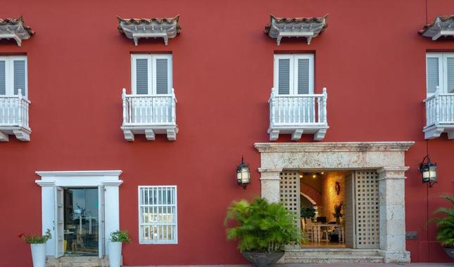 Façade Hôtel GHL Collection Armería Real Hotel Carthagène
